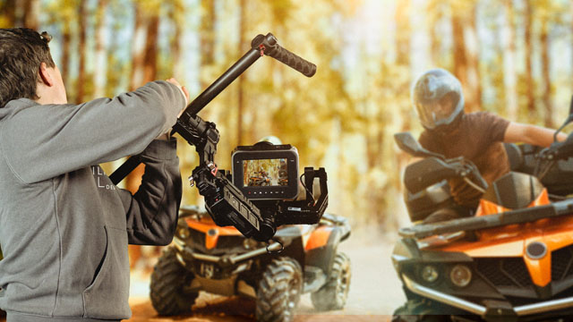Filmproduktion mit DJI Ronin - Actionszene