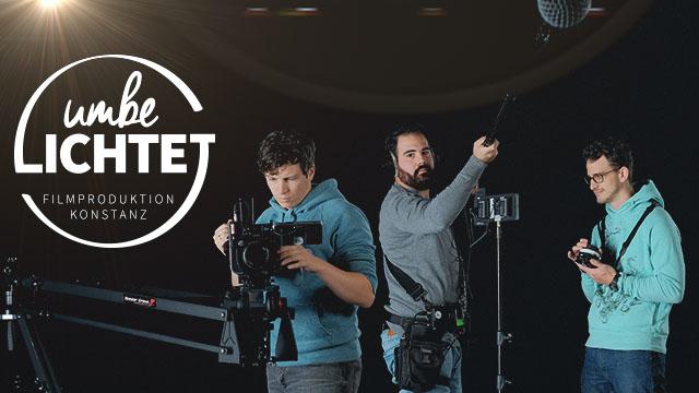 Filmproduktion Team umbelichtet!: Kameramann, Tontechnicker, Produktionsleitung