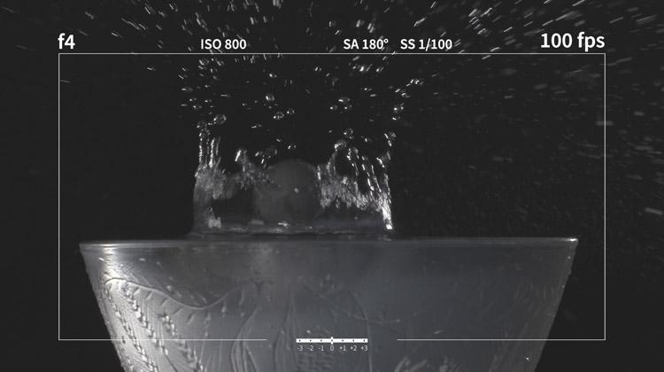 Framerate und Licht bei Slow Motion Drehs